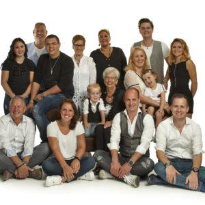 familie portret, van Schenkhof,