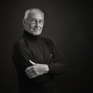 portret Kees Leyenaar,